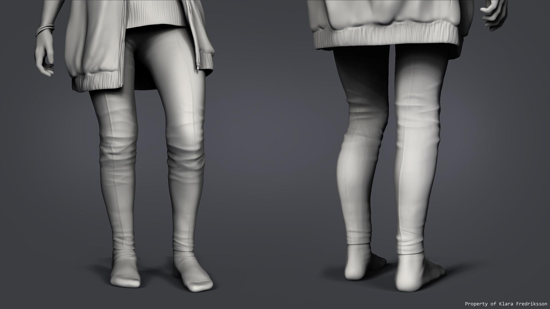 Klara fredriksson pantscloseup