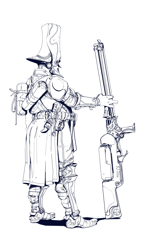 Hugo richard witch hunterline 1