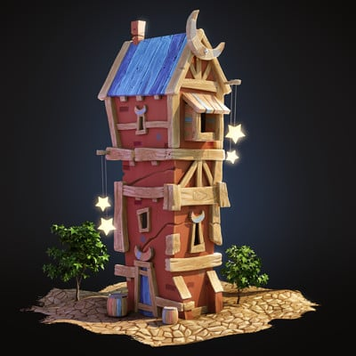 Oren leventar wood tower