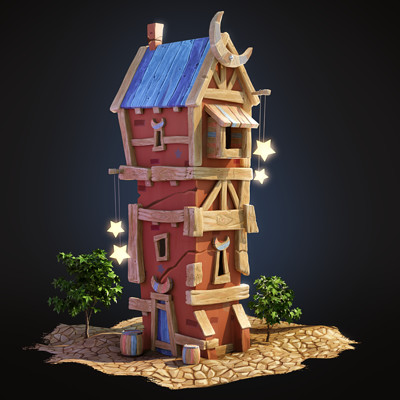 Oren leventar wood tower