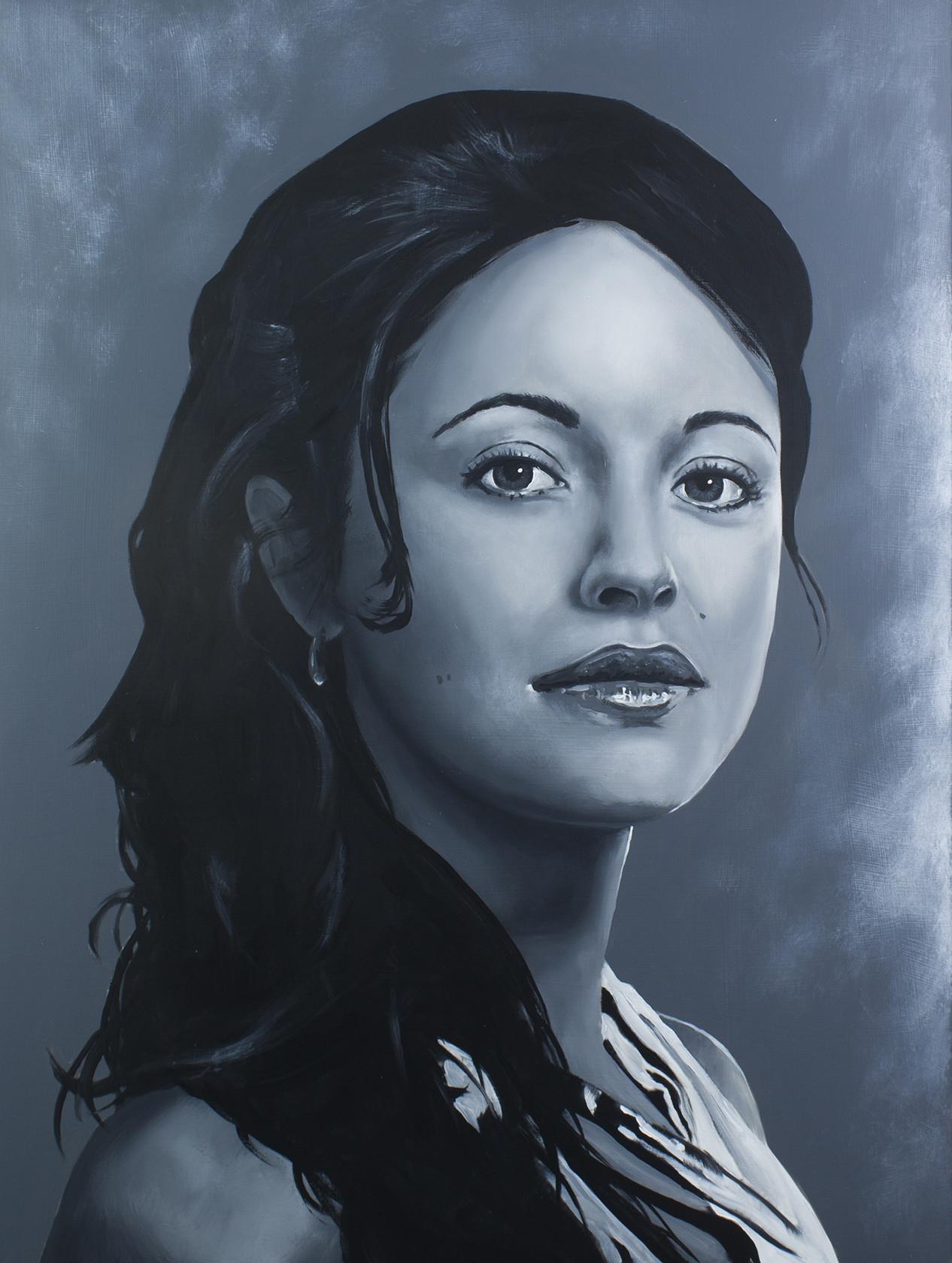 Melitta - Marisa Ramirez Spartacus Series - Acrylic on board. 16x20