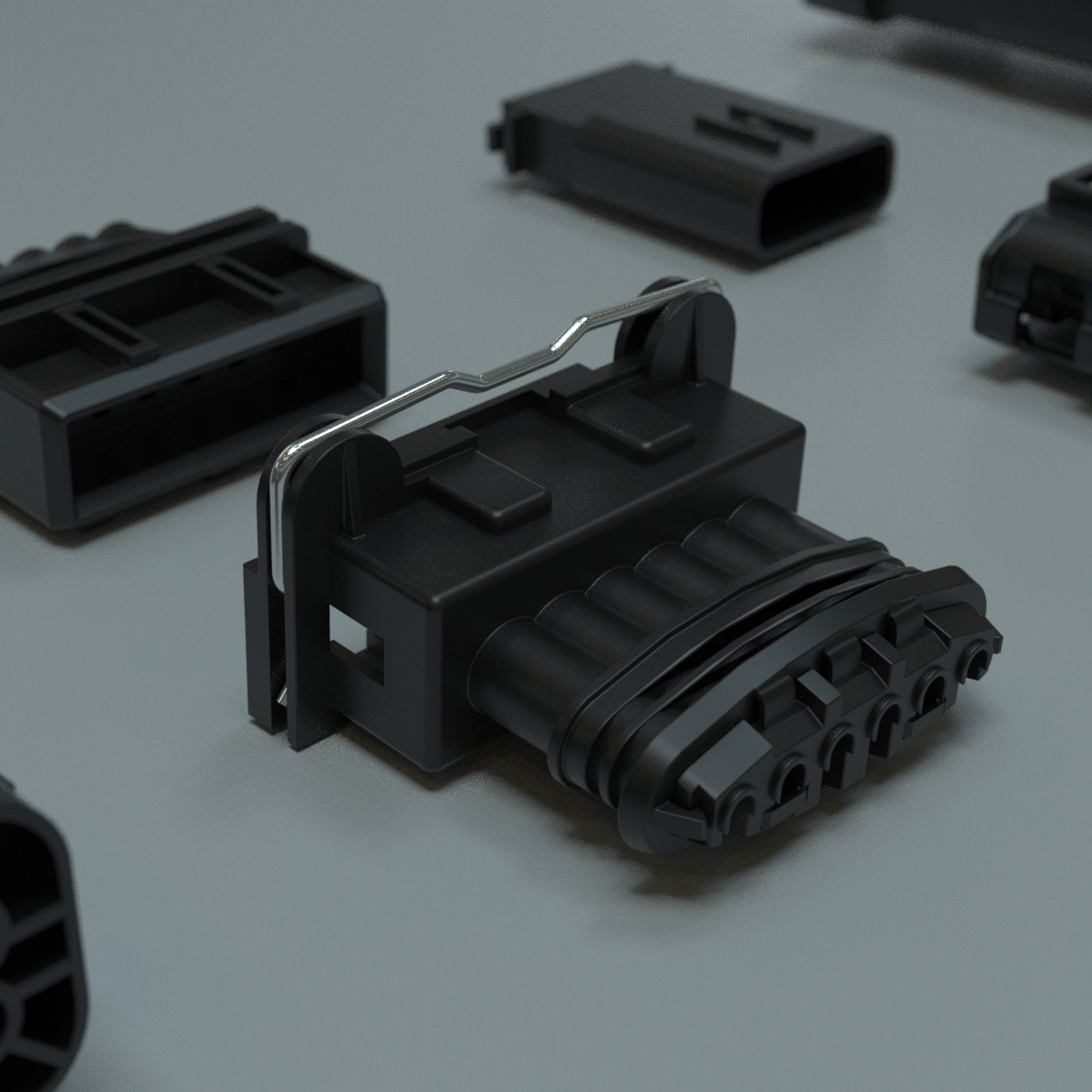 Hard Surface Modeling with CAD - Plastic Sockets