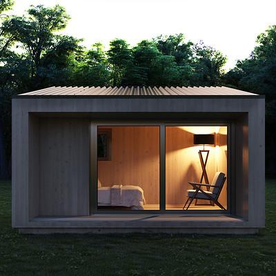 Francois bethermin cabin01