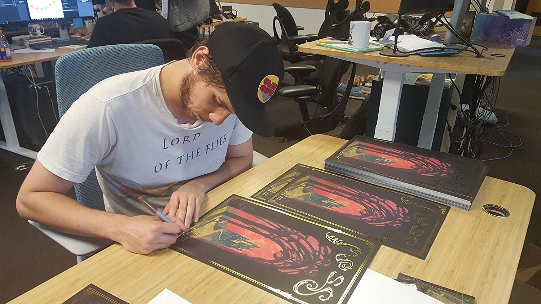 Ryan demita moss poster signing