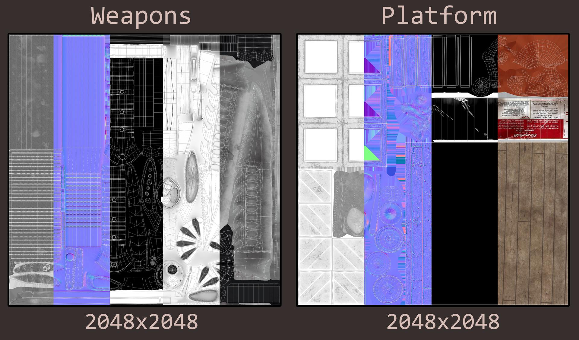 Klara fredriksson texturesheets platformandweapons