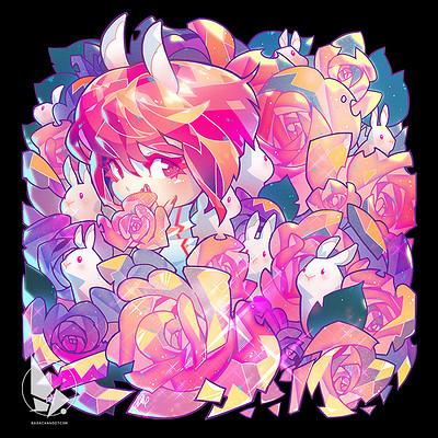 Rose besch 160809rosa