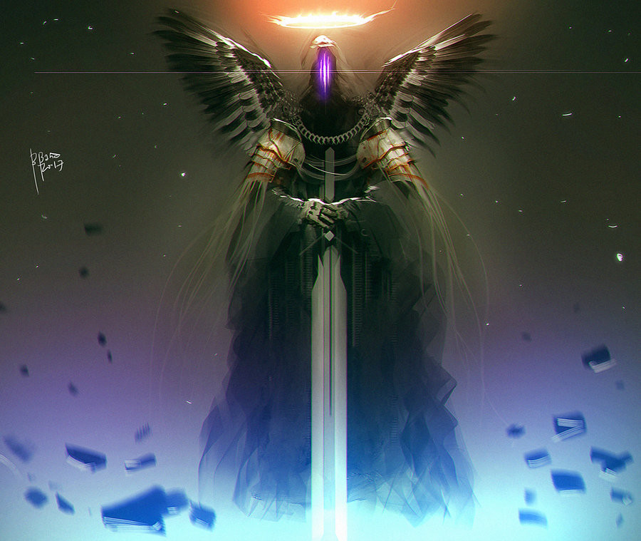 Benedick bana harbinger of light by benedickbana dboigbm