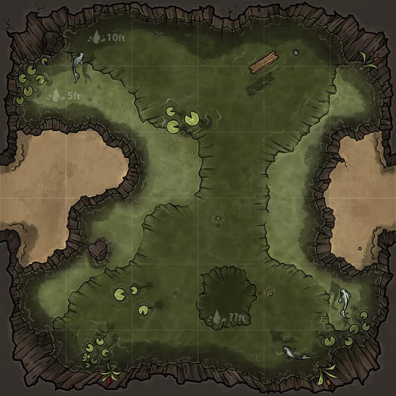 Michael Fitzhywel - Dungeon Maps: Murky Waters