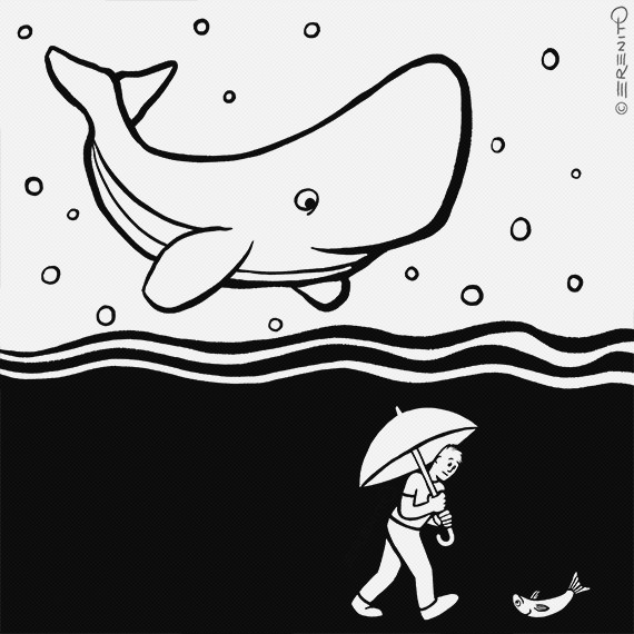 Inktober2017-04-Underwater #inktober #inktober2017