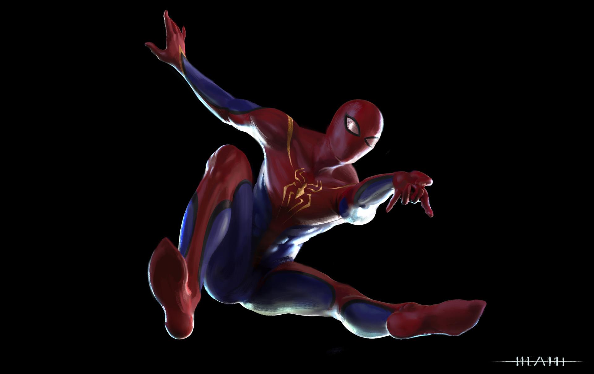Alex heath spiderman