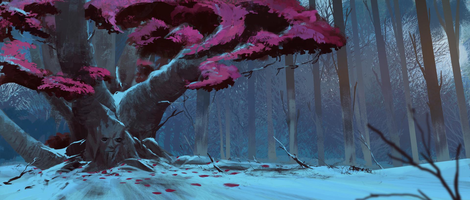 Harrison yinfaowei willow treeb