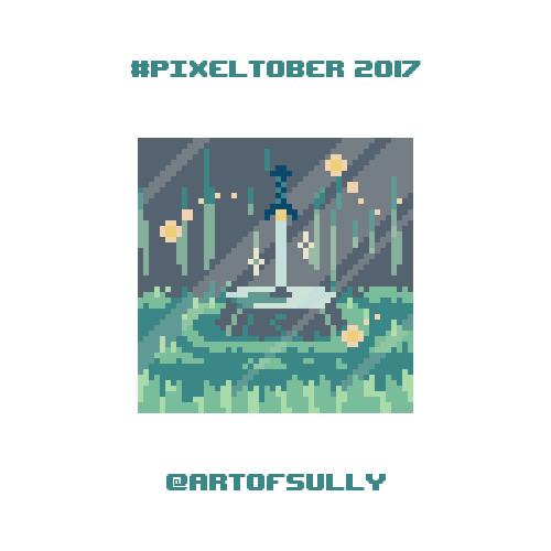 #pixeltober - Day 2 - 'Magic Sword'