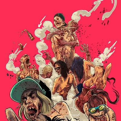 Santtos cover zombiesluts santtos color