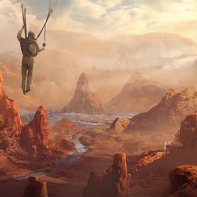 Pontus olofsson skydive canyon