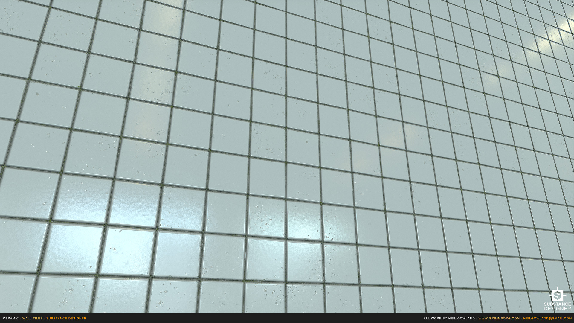 Artstation ceramic wall tiles substance designer material scroll to see more dailygadgetfo Images