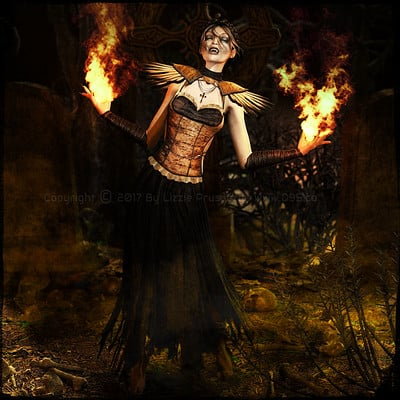 Lizzie prusaczyk d9s co the summoning