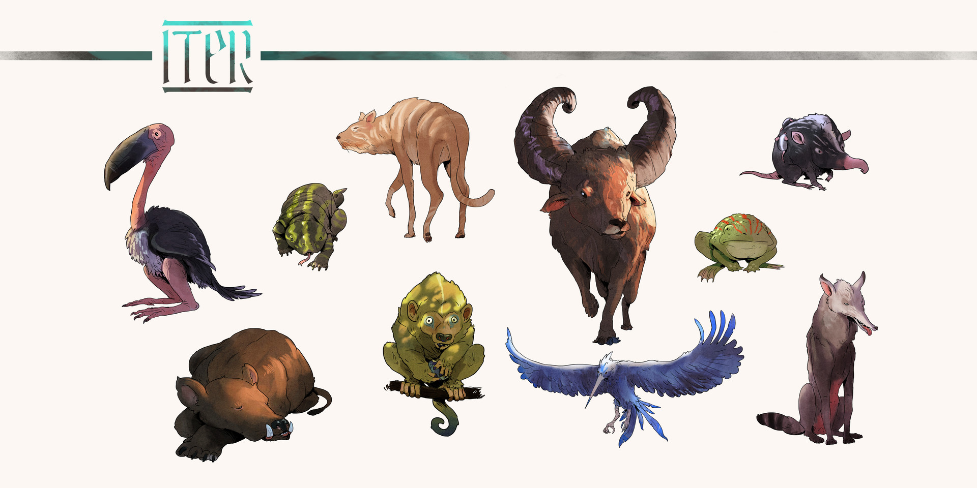 Ismael gil creatures2