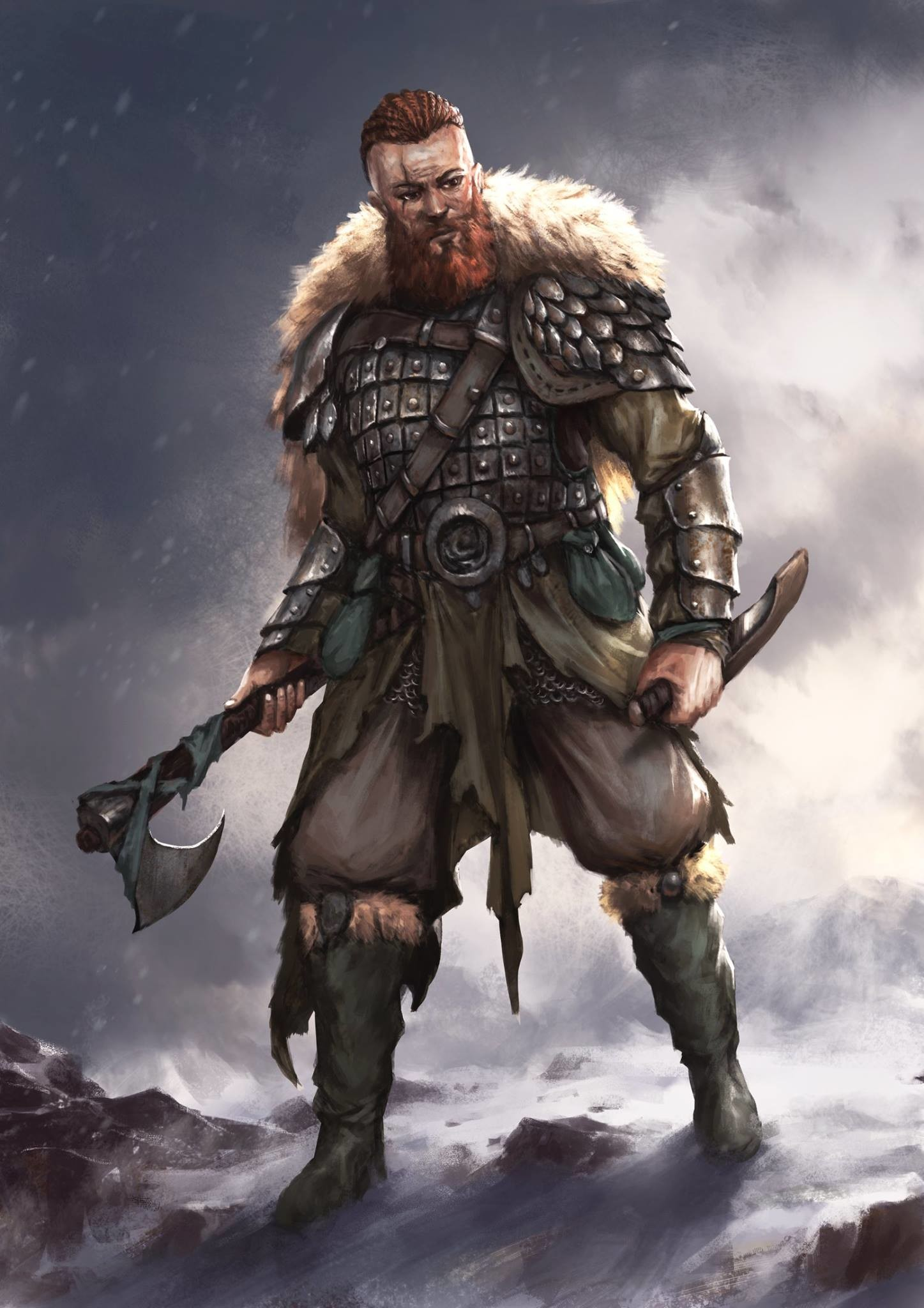 ArtStation - Viking, Plutus Su
