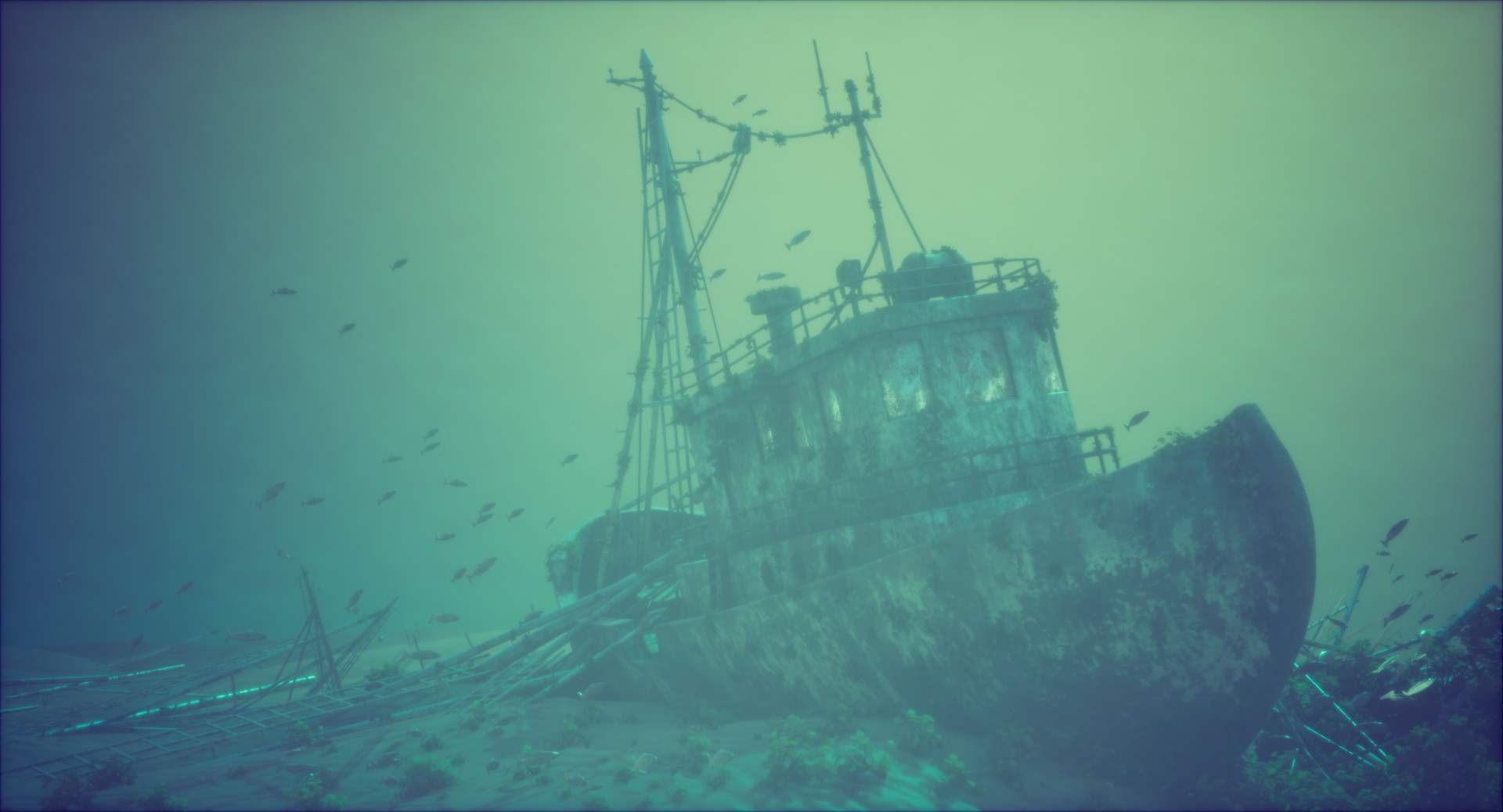 Sunken ships: Making seascapes look cool |Sunken Ships Underwater