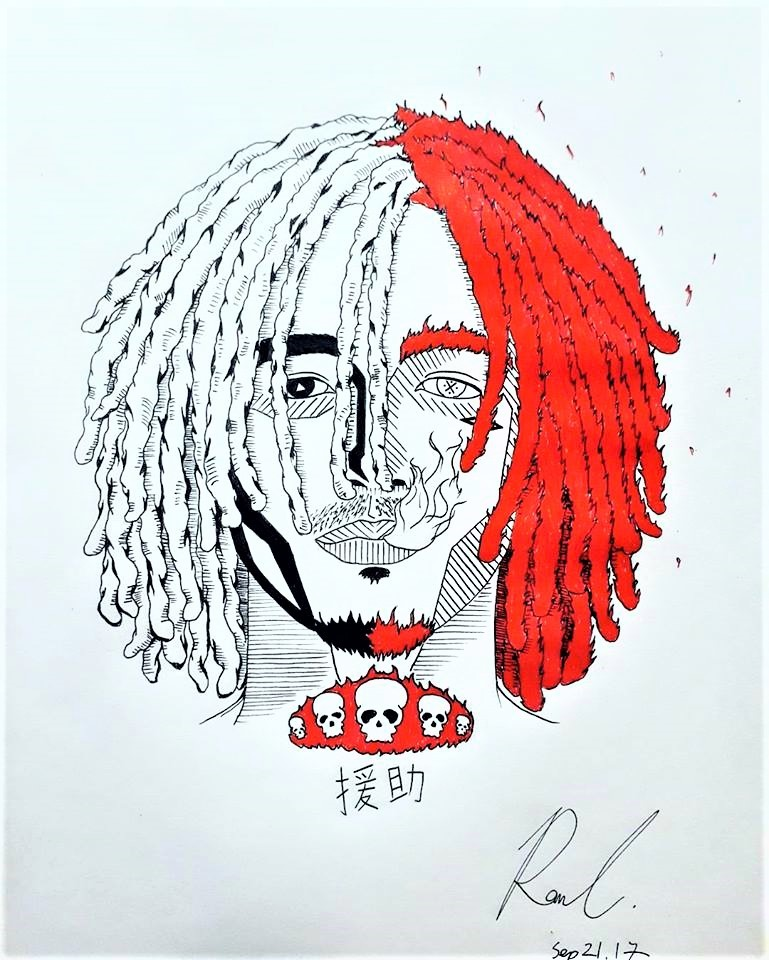 ArtStation - Lil Pump, Ronn C