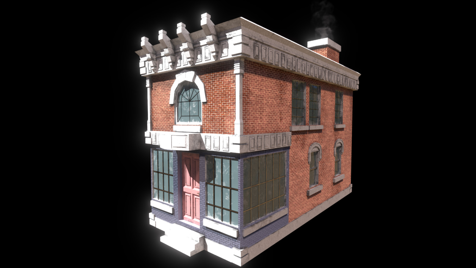 Brick Storefront