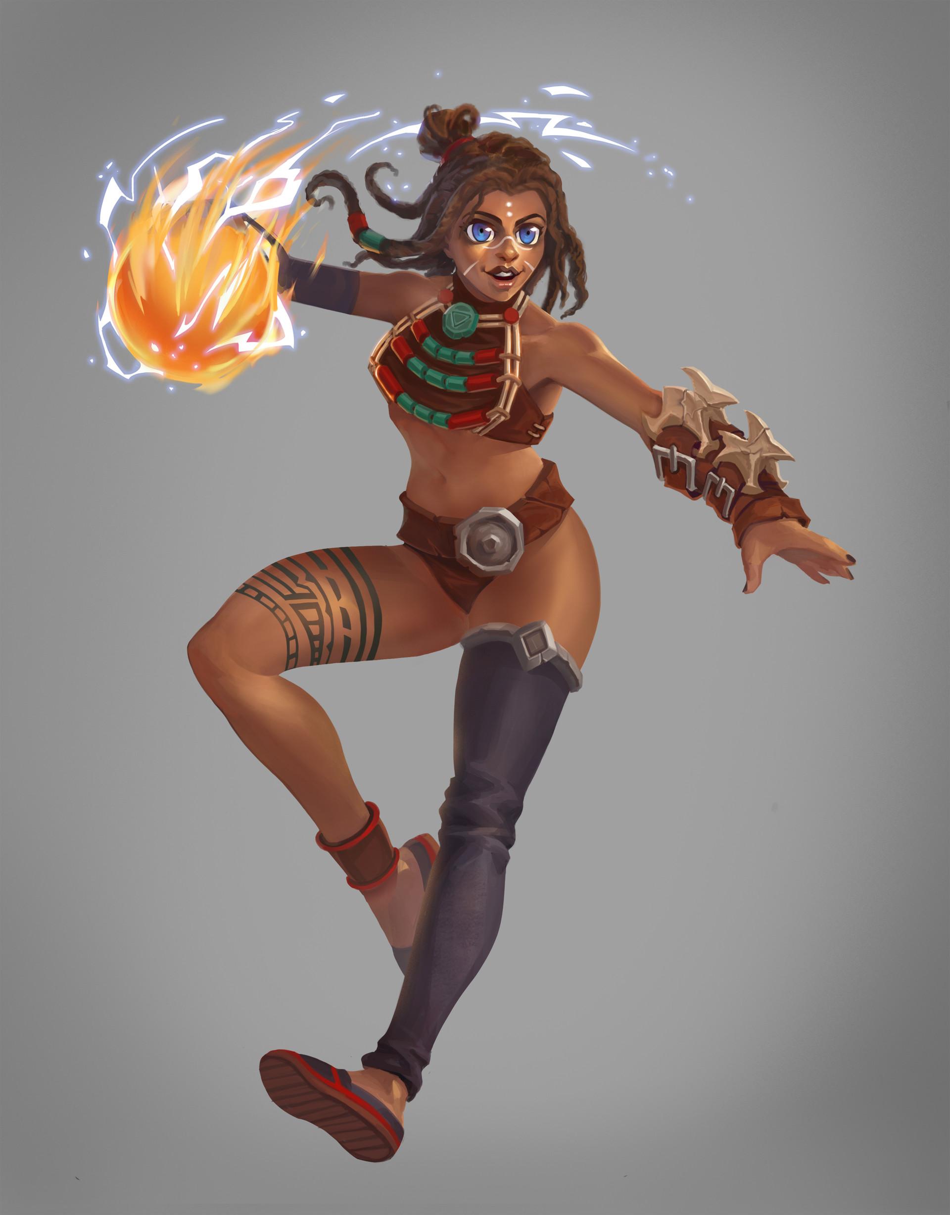 Greg mack final skeleton warrior female