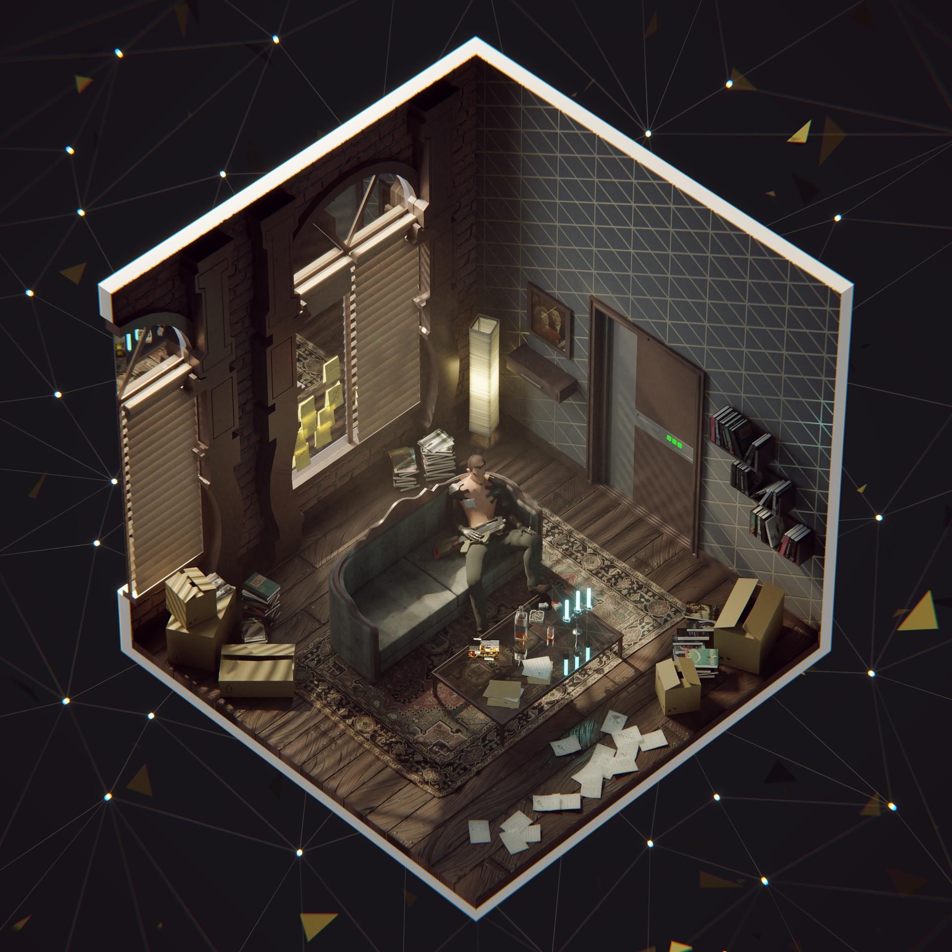 Deus Ex Hr Adam Jensen S Apartment
