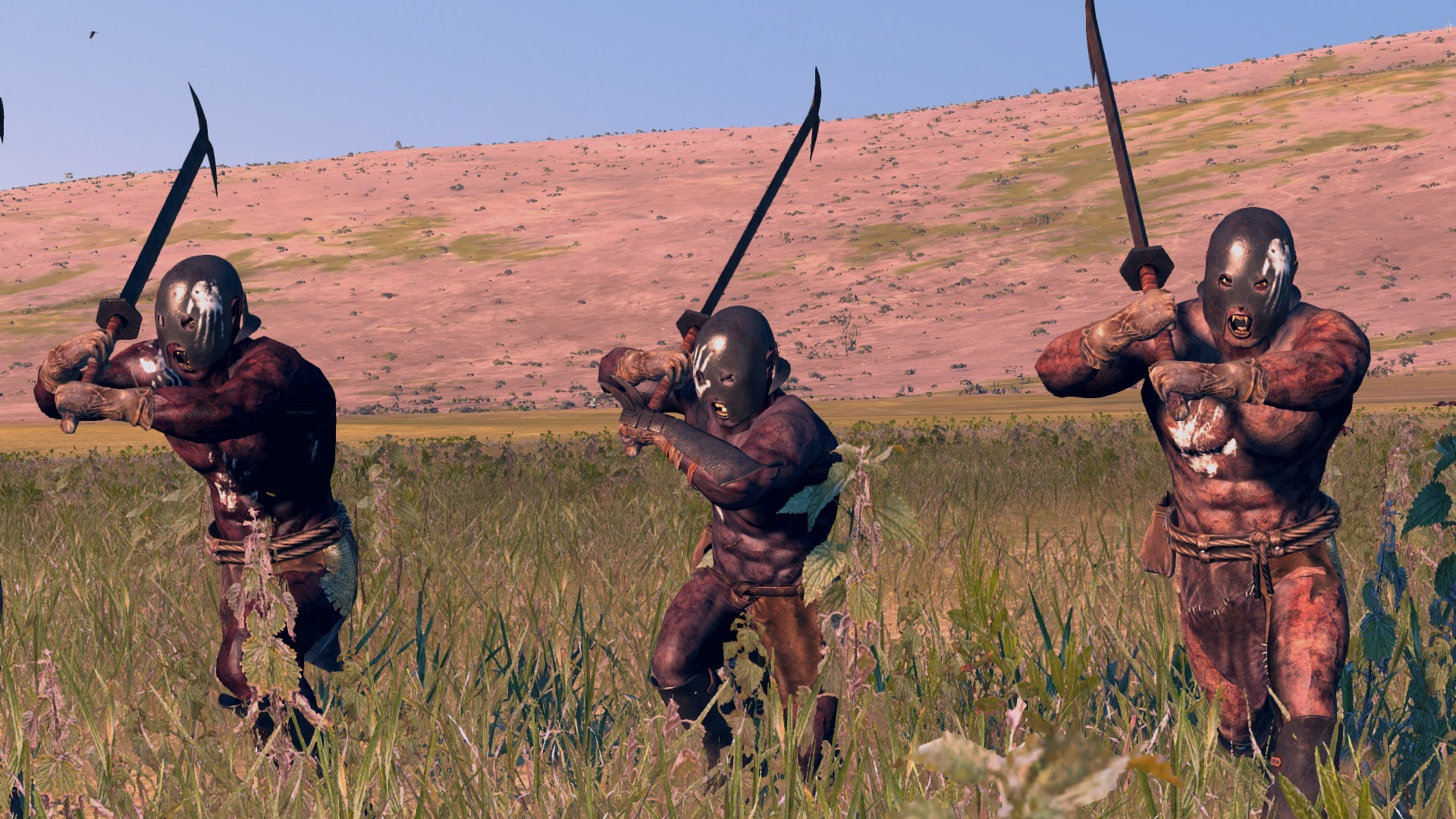 Berserkers in action (Ingame)