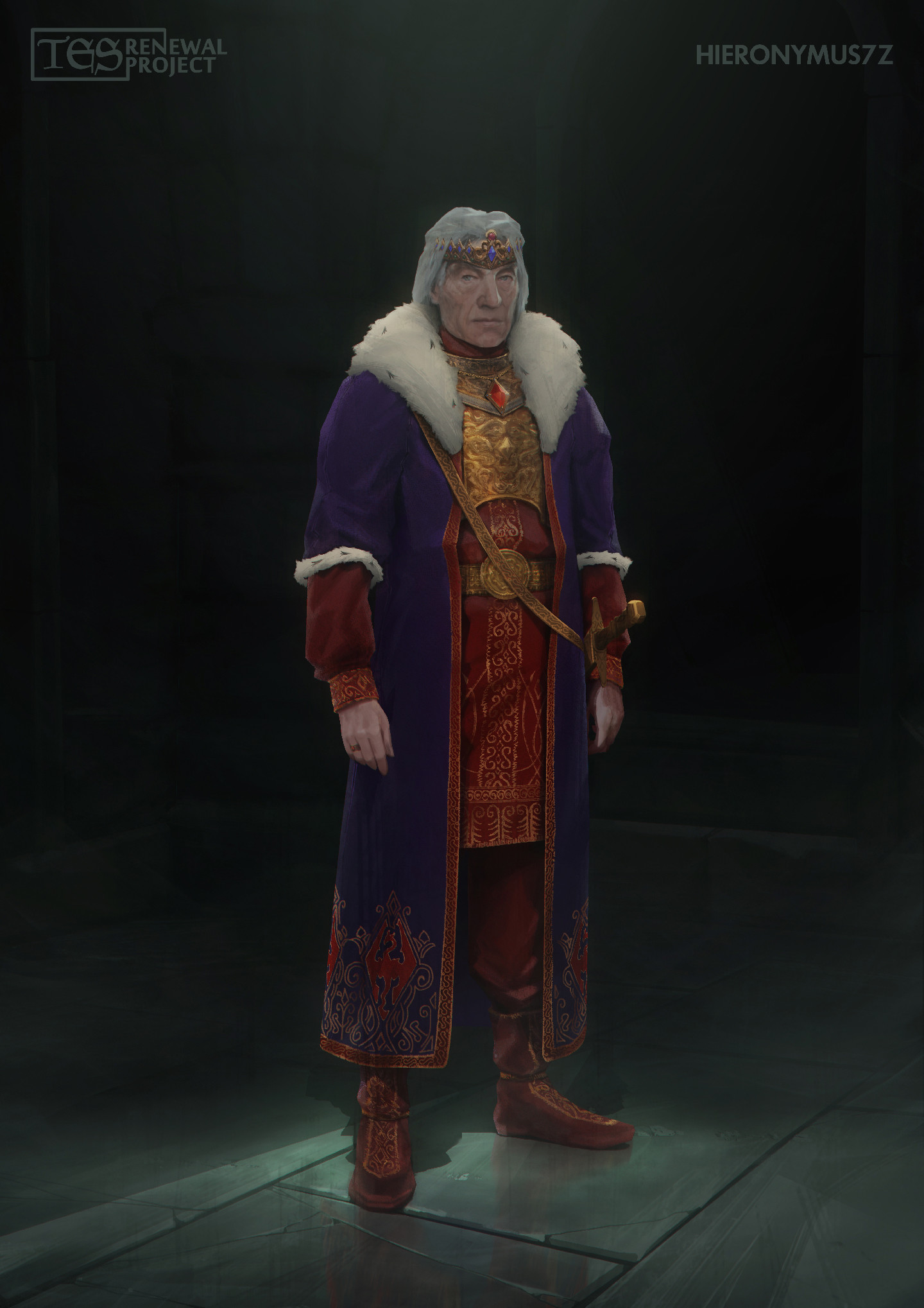 Alfred khamidullin emperors robes fin