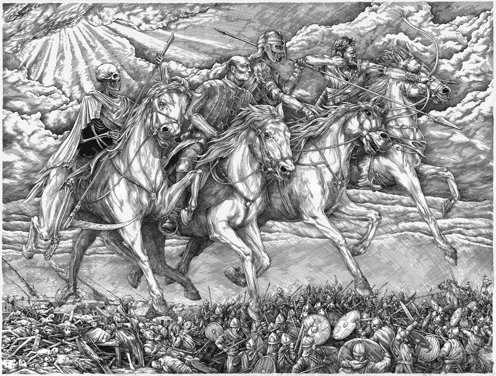 Vlad Gradobyk - Four Horsemen of the Apocalypse