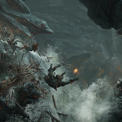 Damian bajowski orcs cave 07