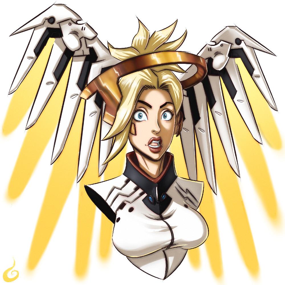 OW Fanart Mercy