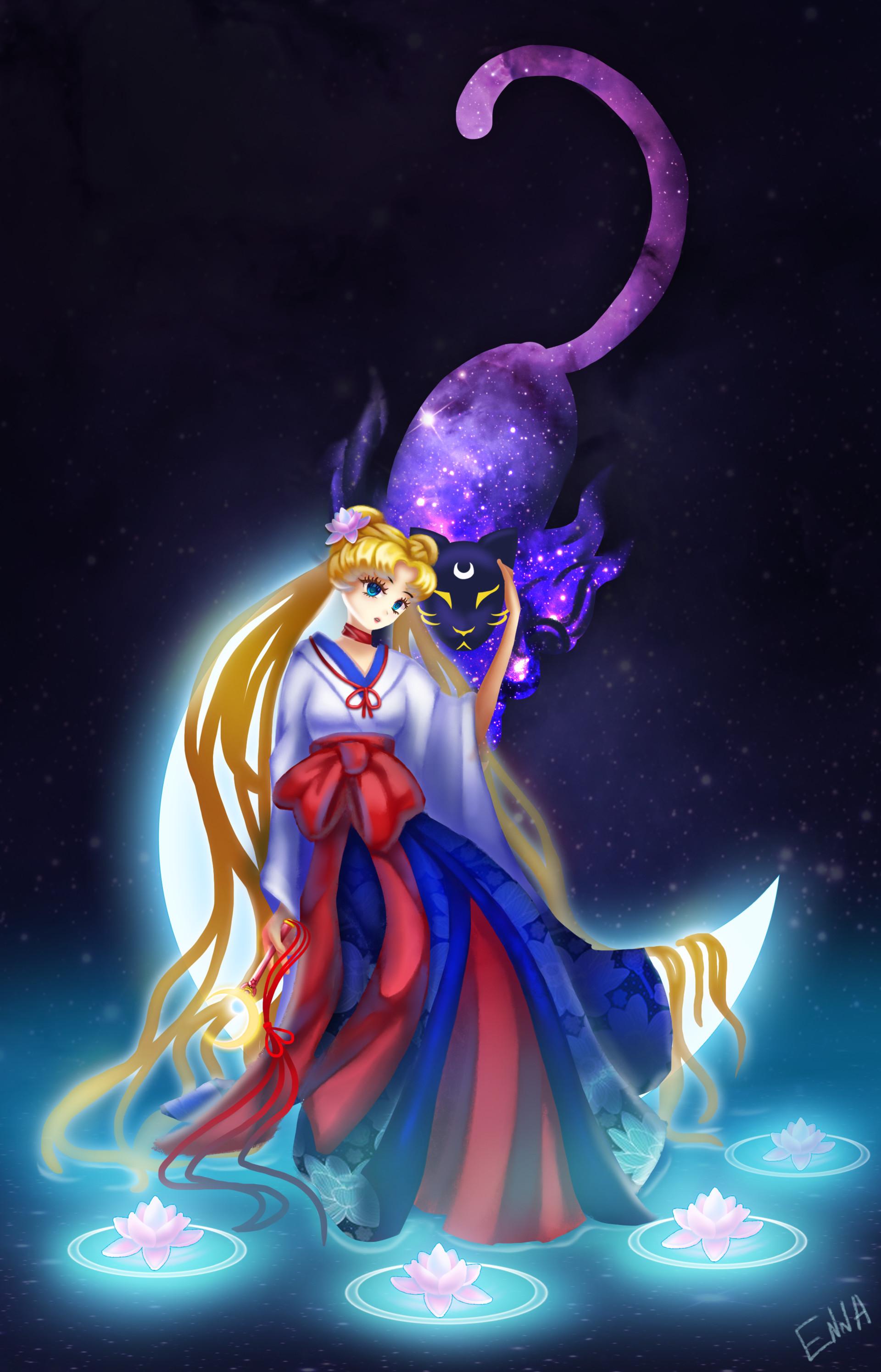 Enna lover sailor moon kimono