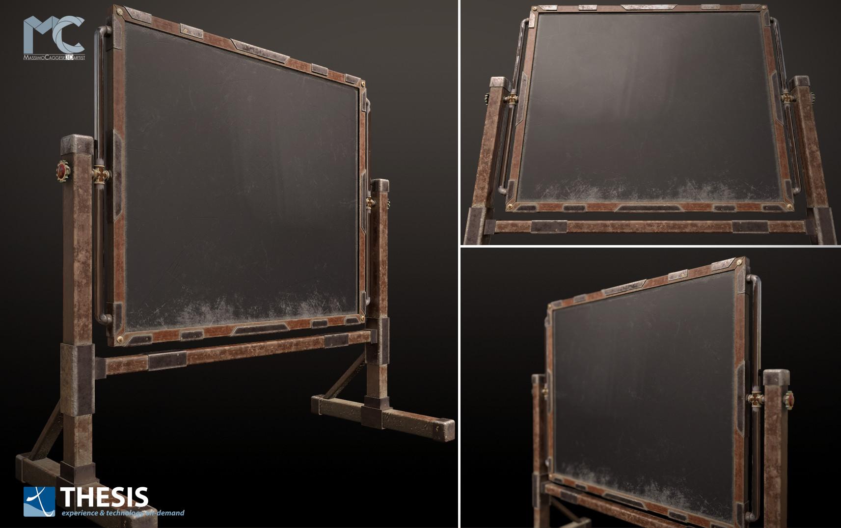 Blackboard (Marmoset Toolbag 3).