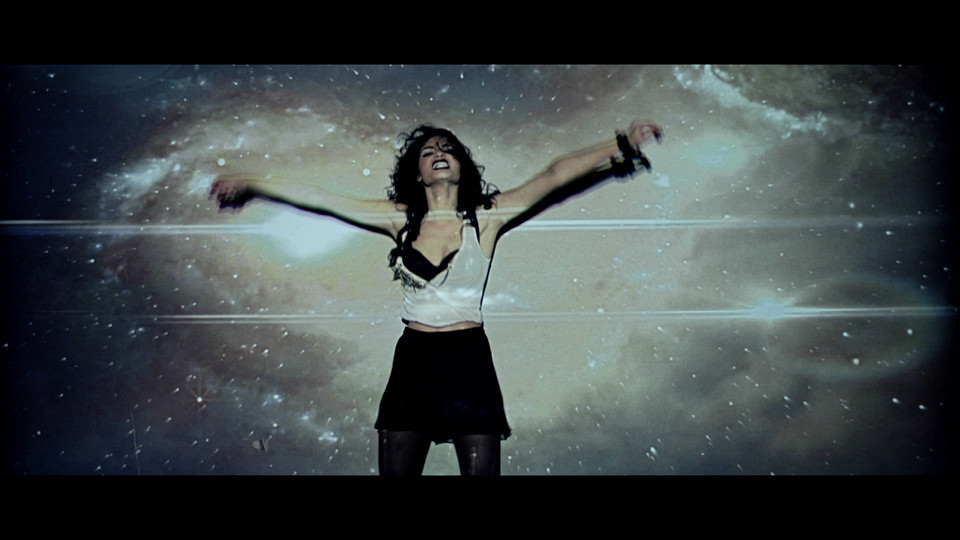 One of the shots from the final music video (shame the grading reduced the colors).