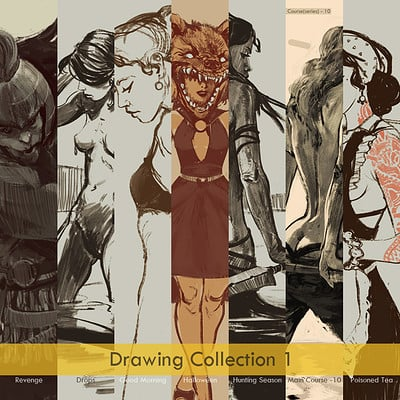 Sina pakzx kasra drawing collection 1 cover