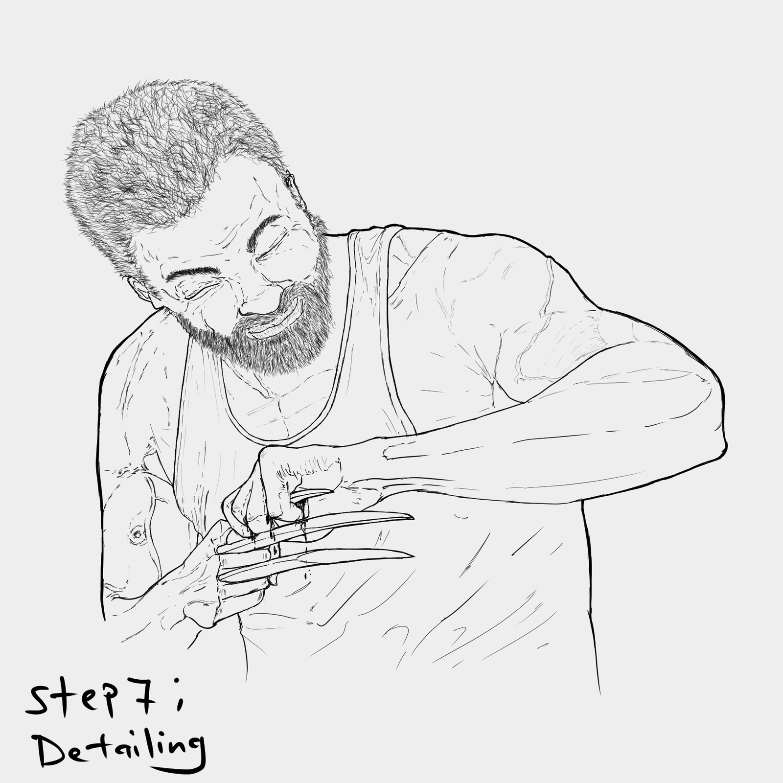 Backlog Daily Art Workout [Figure Drawing]( Day 263): Logan