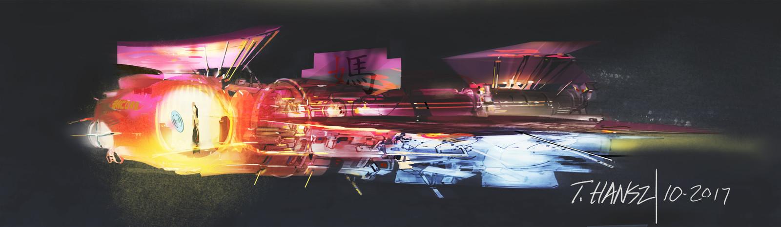 3 Ships sketches