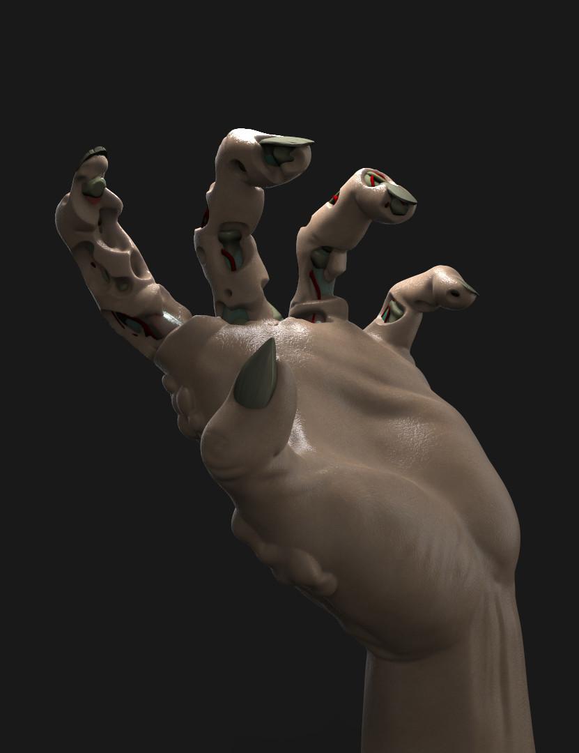 Zombiehand -  Work in progress