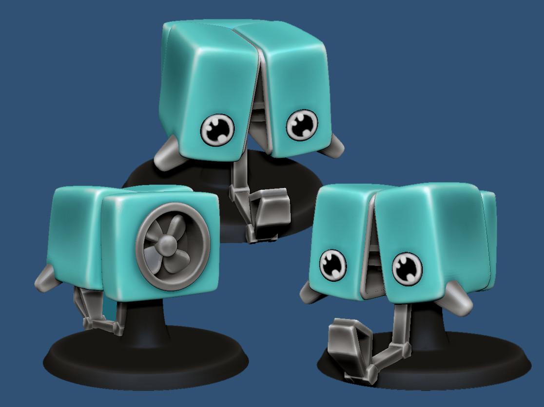Microbot 3D print