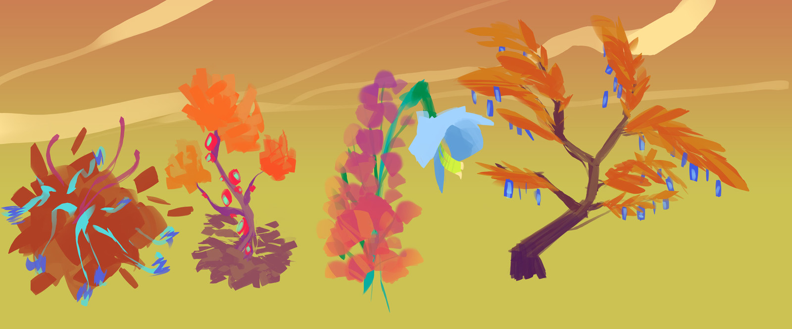 """Acid Trees - Acid just cause of their colours ^^"""""""