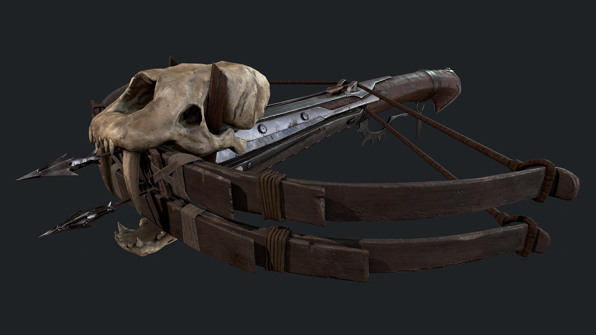 ArtStation - Medieval crossbow, Leo Coto