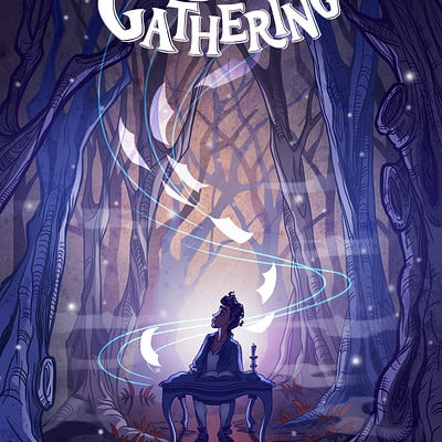 Woolgathering Comic Cover Art
