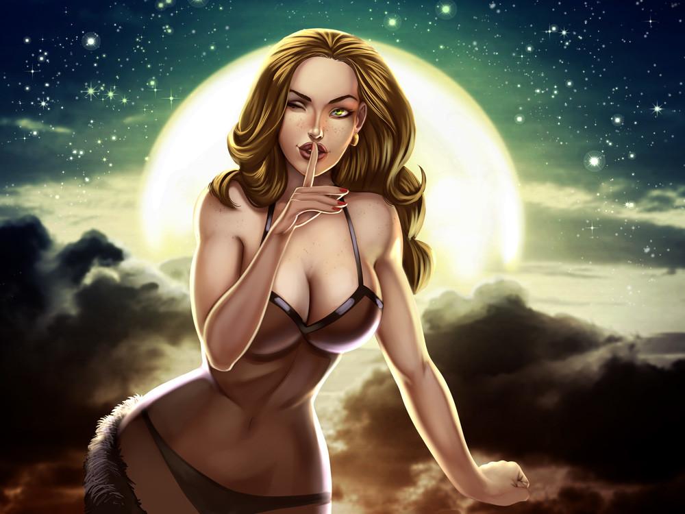 Glen fernandez sardi moon girl 007