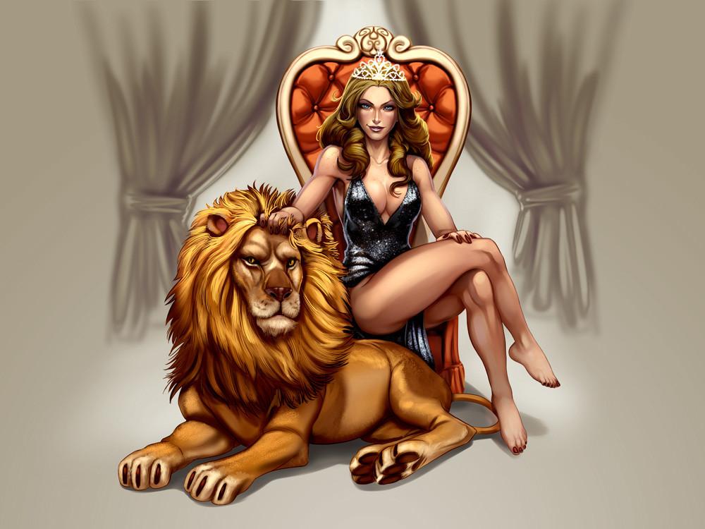 Glen fernandez sardi lion girl 007