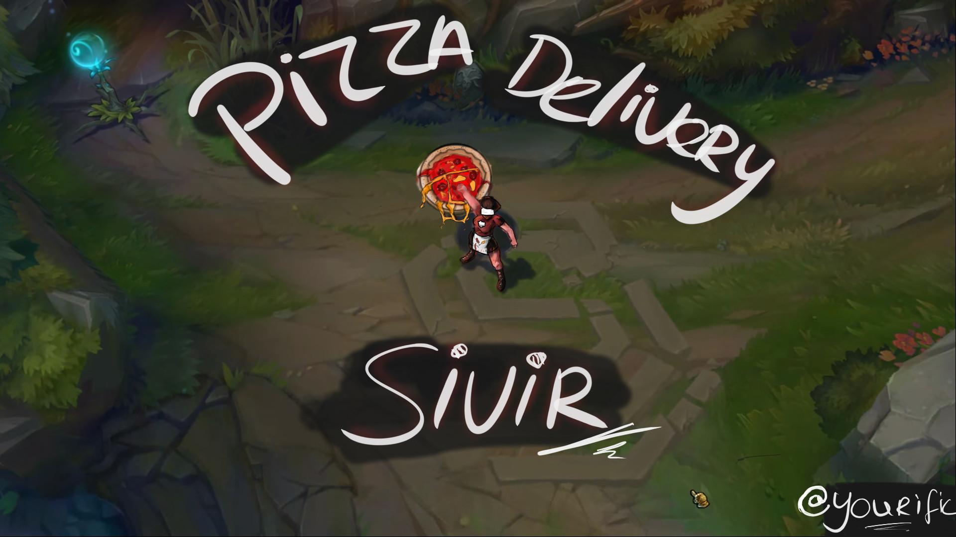 Artstation Pizza Delivery Sivir Youri Hogeboom