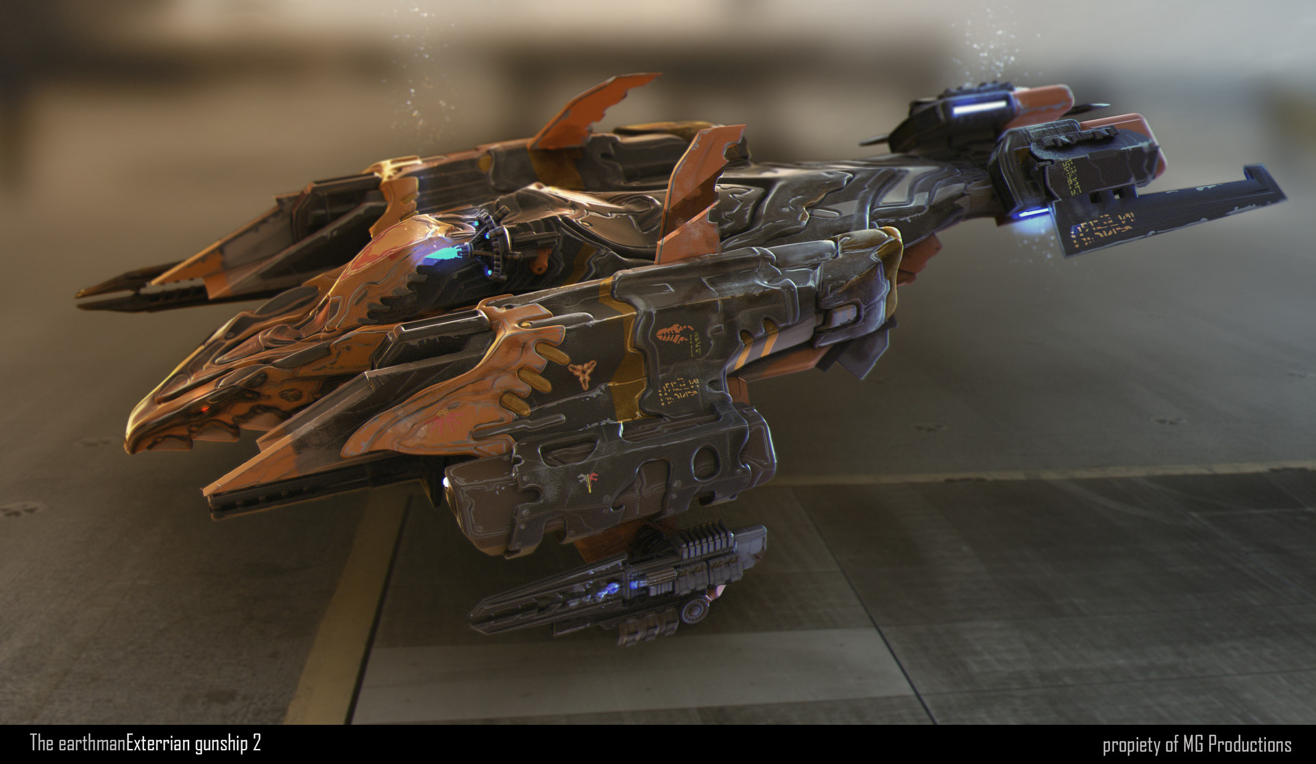 Jean paul ficition gunship001