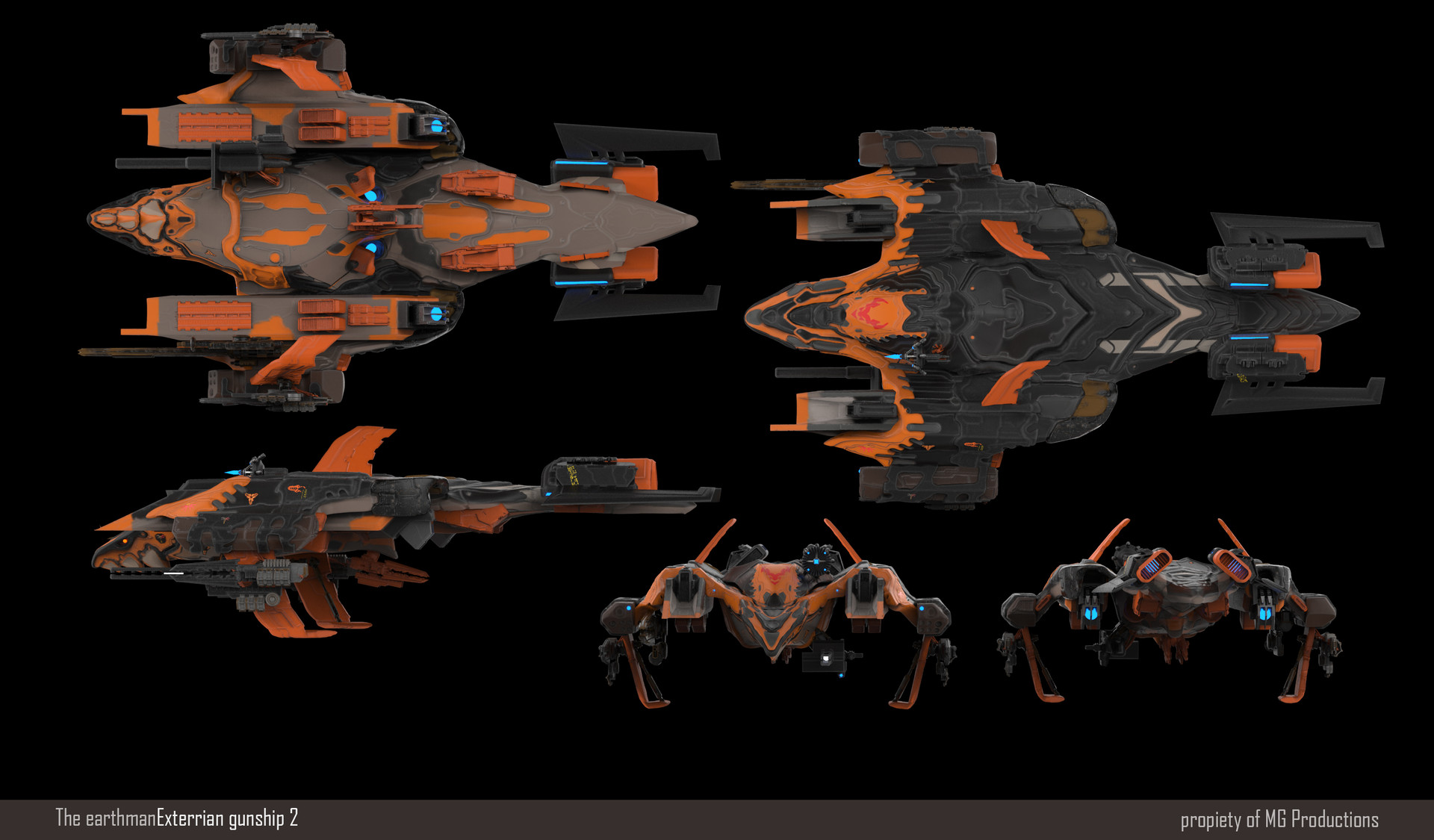 Jean paul ficition gunship003