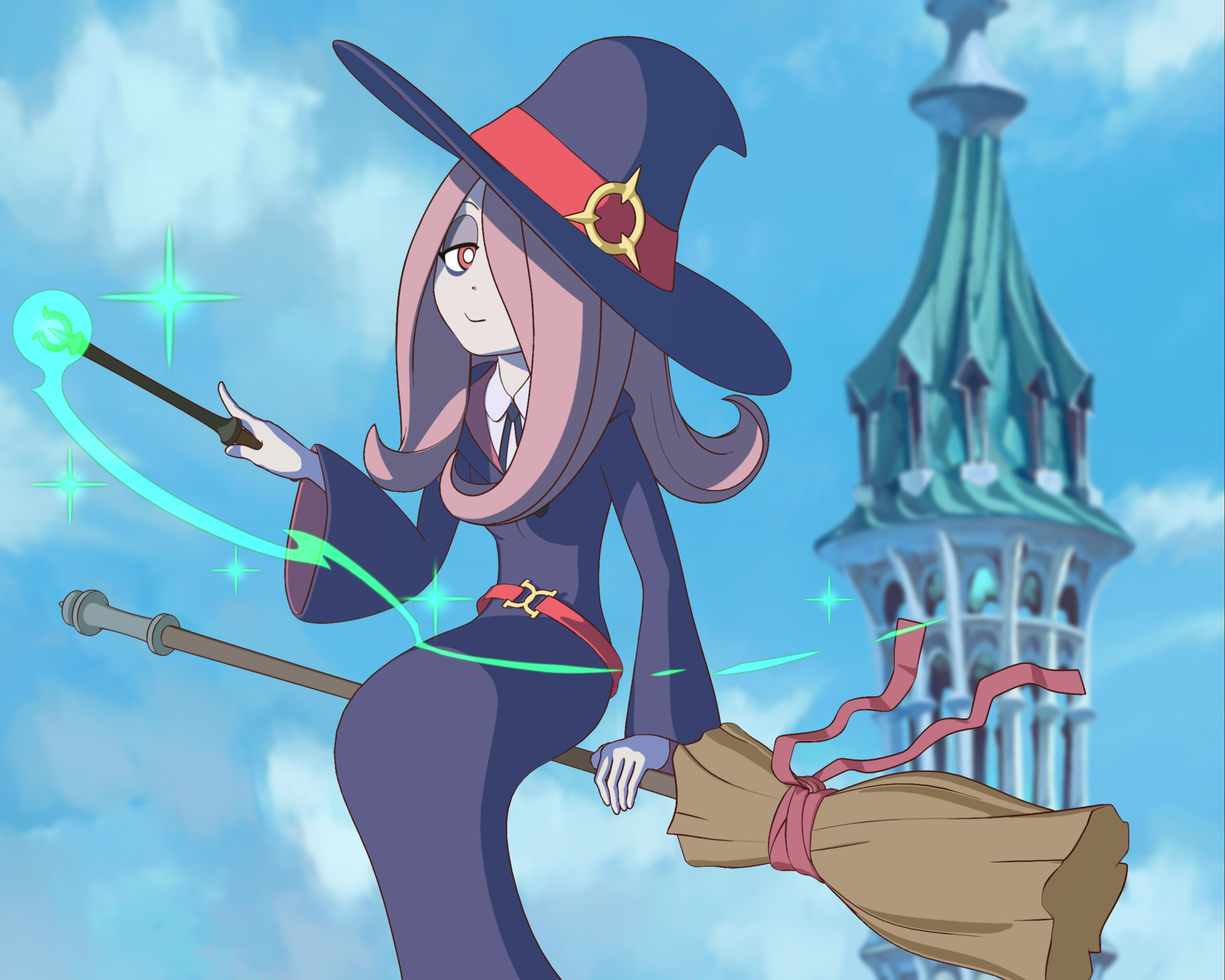 Artstation Sucy Manbavaran Little Witch Academia Milk Caramel