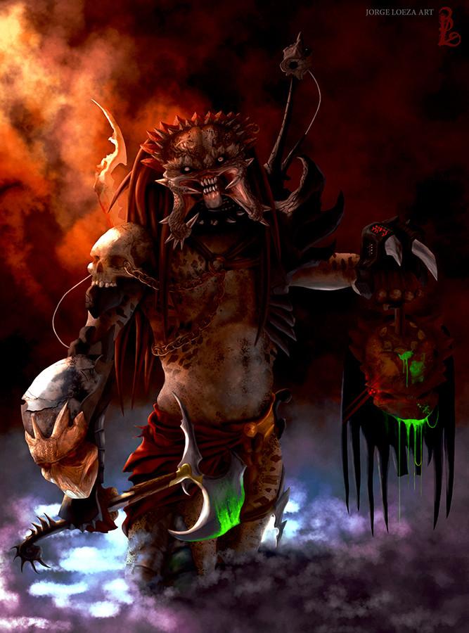 ArtStation - Predator Bad Blood, Jorge Loeza